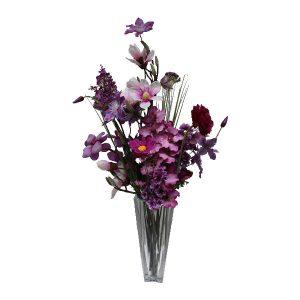zijde-bloemen-boeket-paars